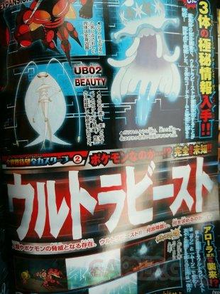 Pokémon Soleil Lune scan corocoro ultra chimere 12 09 16