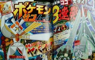 Pokémon Soleil Lune scan CoroCoro Ultra Chimères 11 11 2016