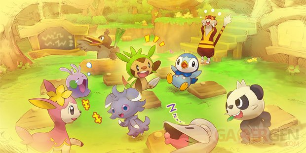 Pokémon Super Méga Mystery Dungeon 19 07 2015 art 0