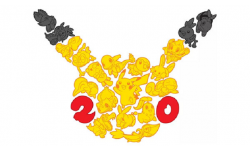 Pokémon 20 ans 20th anniversary logo 1