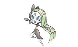 Pokémon X Y Rubis Oméga Saphir Alpha distribution Meloetta 01 12 2016