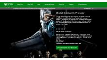 Prix Mortal Kombat XL