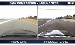 Project CARS Comparaison Realité