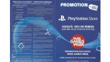 Promotion PSN Exclusivité Paris Games Week 01