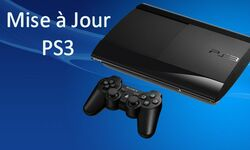 PS3 PlayStation Mise a jour MaJ Update vignette 25.03.2014