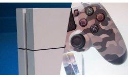 PS4 blanche Dualshock 4 urban camouflage 01.09.2014