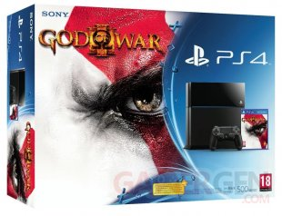 PS4 bundle GOW III