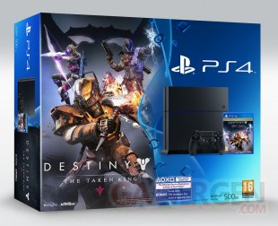 PS4 collector Destiny Le Roi des Corrompus 07 07 2015 bundle 2
