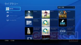 PS4 Firmware 2.00 bibliotheque (1)