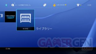 PS4 Firmware 2.00 bibliotheque (2)