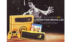 PS4 Jaune Bruce Lee EA UFC Sport