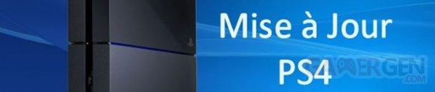 PS4 mise a jour