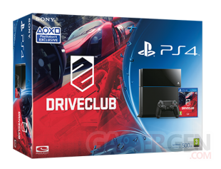 PS4 pack Driveclub visuel
