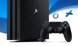 PS4 PlayStation 4 Pro head hardware banner logo console
