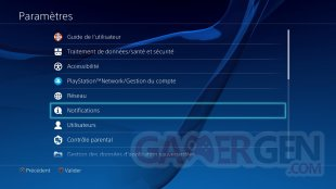 PS4 PlayStation tuto notification amis tutoreils images (2)