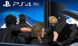 PS4 PRo Final Fatasy XV FFXV image