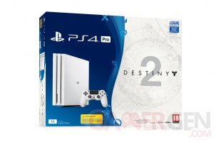 PS4 Pro PlayStation 4 Pro bundle Glacier White destiny 2