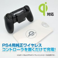 PS4 Qi Wireless station de recharge dualshock 4 (4)