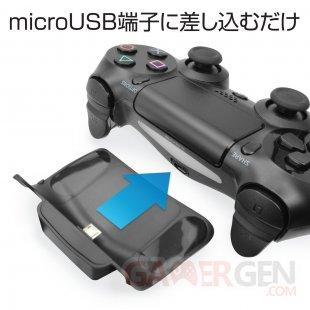 PS4 Qi Wireless station de recharge dualshock 4 (6)
