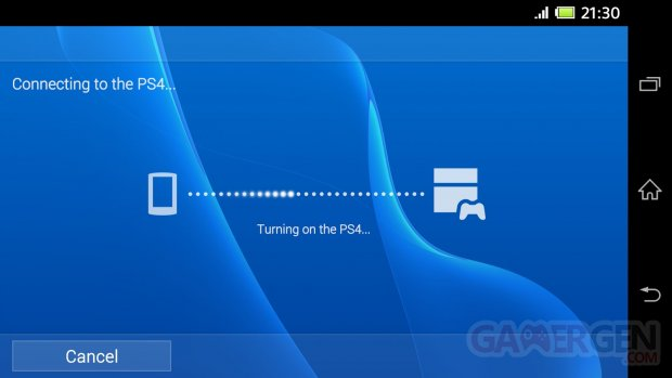 ps4 remote play application xperia z3