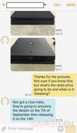 PS4 Slim date de sortie