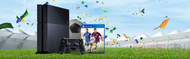 PS4 Soft bundle FIFA 15