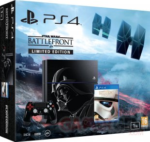 PS4 Star Wars Battlefront dark vador pack bundle