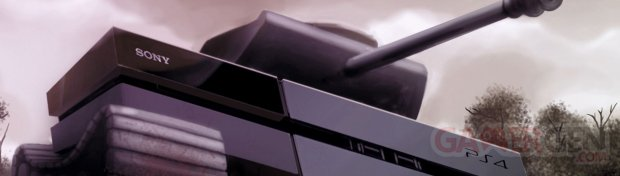 PS4 tank banniere