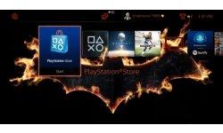 PS4 theme Batman Arkham Knight