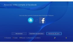 PS4 tuto Facebook rechercher ami contact (5)
