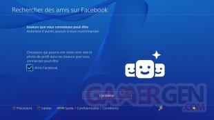 PS4 tuto Facebook rechercher ami contact (6)