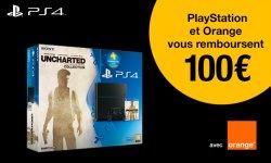 PS4 Uncharted Orange