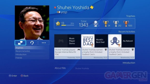 psn shuhei yoshida music player demo