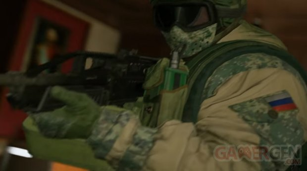 Rainbow Six Siege Spetsnaz head