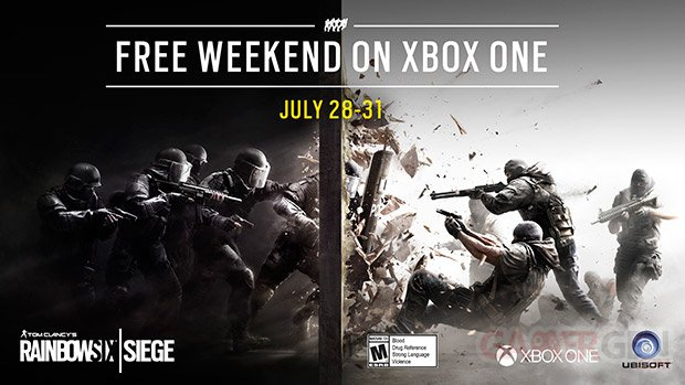 Rainbow Six Siege week end gratuit