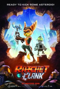 Ratchet and Clank movie film 08 11 2014 poster