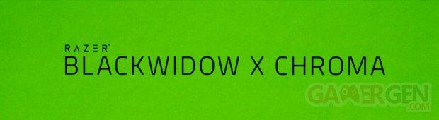 Razer BlackWidow X Chroma Clavier Mécanique Switches Gamers Gaming Joueurs Photo Image Unboxing Déballage Test Avis Review GamerGen com Clint008 (Bannière)