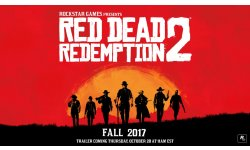 Red Dead Redemption 2 Rockstar Games image annonce 18 10 2016