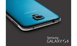 rendu visuel Samsung Galaxy S5 electric blue bleu (2)