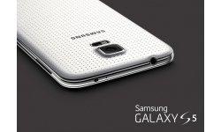 rendu visuel Samsung Galaxy S5 shimmery white blanc (2)