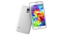 rendu visuel Samsung Galaxy S5 shimmery white blanc (4)