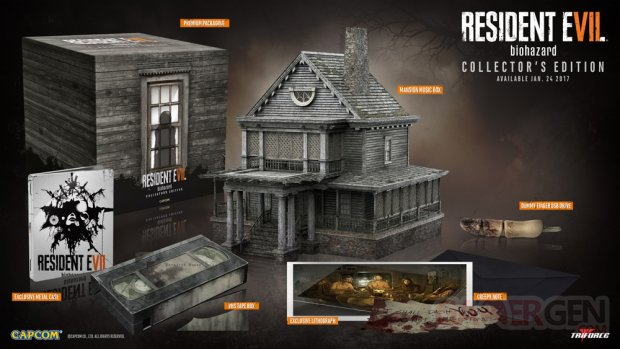 Resident Evil 7 Biohazard collector US