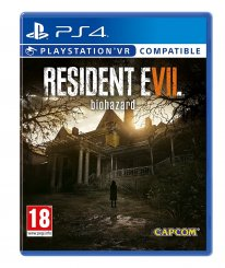 resident evil 7 PS4 jaquette cover