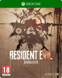 resident evil 7 steelbook xbox one jaquette cover