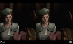Resident Evil HD Remaster comparaison