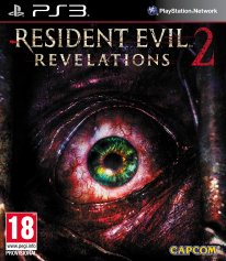 Resident Evil Revelations 2 jaquette packshot cover ps3
