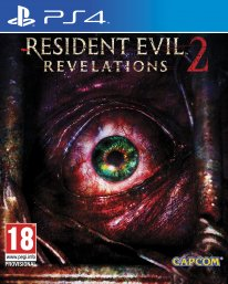 Resident Evil Revelations 2 jaquette packshot cover ps4