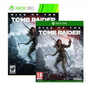 Rise of The Tomb Raider couverture