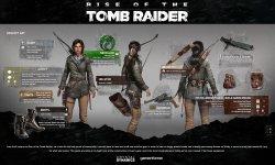 Rise of the Tomb Raider : l'équipement de Lara Croft en détail et en images