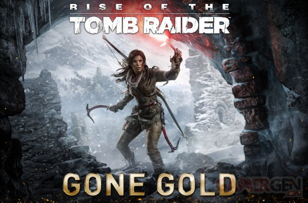 Rise of the Tomb Raider gold